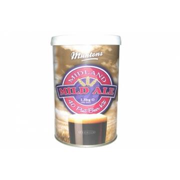 Охмеленный Экстракт для производства домашнего пива! MUNTONS MIDLAND MILD KIT 1,5 кг, на 23 л пива.