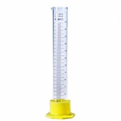 Цилиндр мерный на 100мл на пластиковой подставке