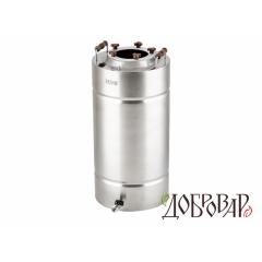 Куб 29 л, ТЭН-Р-версия, 5 шпилек (без крышки)